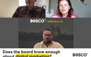 Does the board know enough about digital marketing?